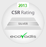 ecovadis silver csr rating